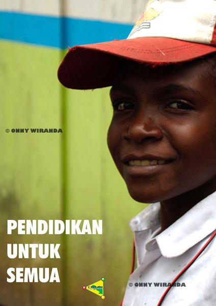Poster Pendidikan Papua