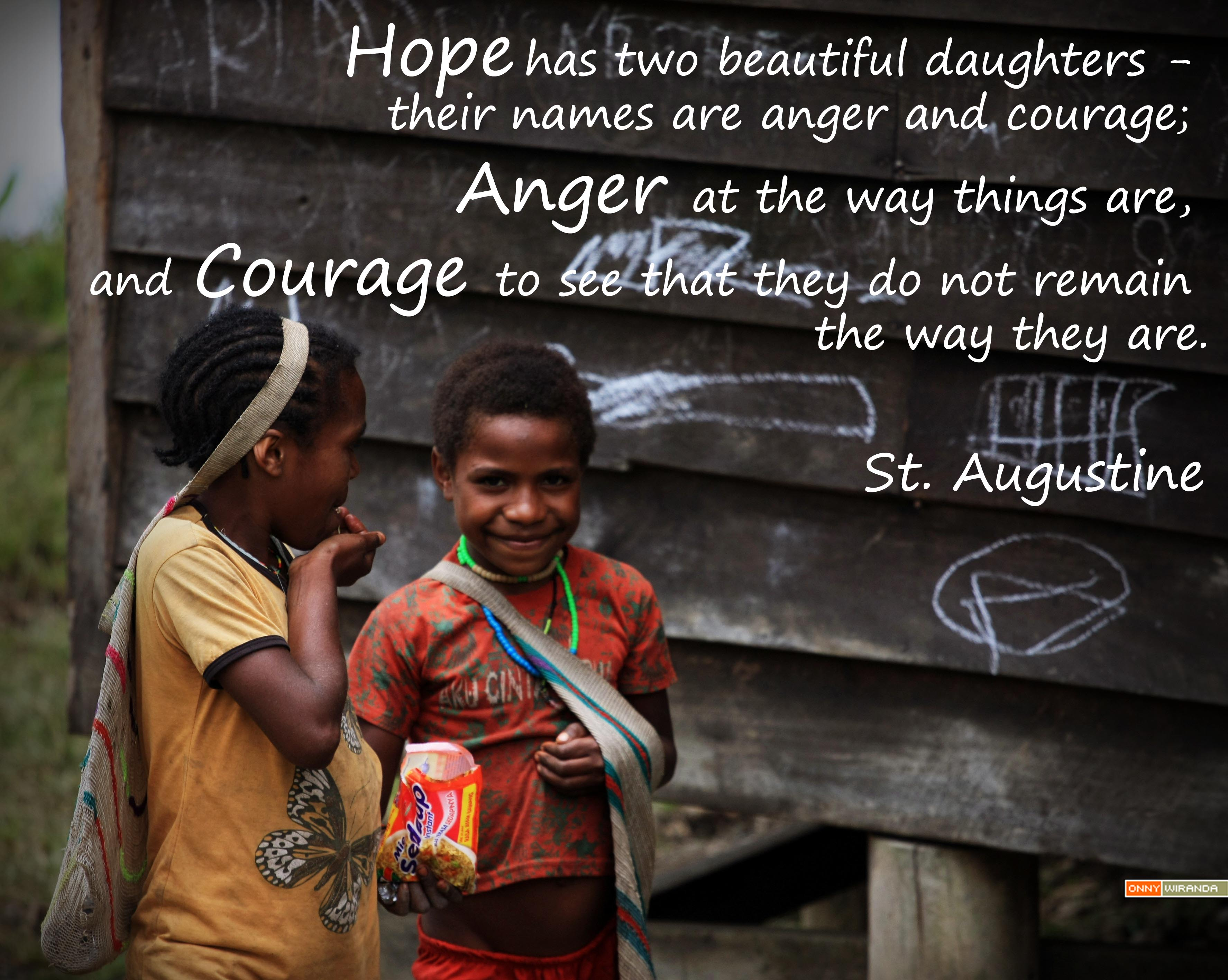Hope Has Two Beautiful Daughters Ogowal Onijoma