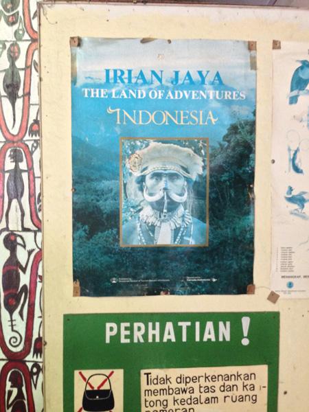 "Poster ""Irian Jaya"""