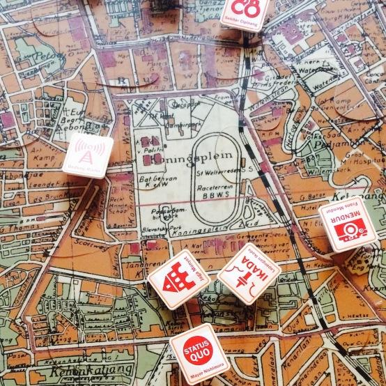 Peta Interaktif Jakarta di Galeri Antara